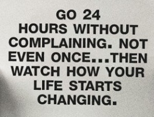 24 hrs non complaining